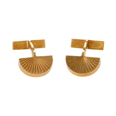 Cartier Cartier Paris Gold Cuff Links