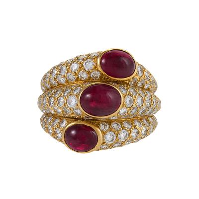 Cartier Cartier Paris Ruby and Diamond Ring