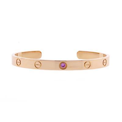 Cartier Cartier Pink Gold Love Cuff Bracelet