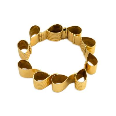 Cartier Cartier Retro Gold Ribbon Loop Bracelet