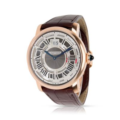 Cartier Cartier Rotonde Annual Calendar W1580001 Mens Watch in 18kt Rose Gold