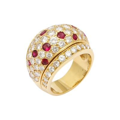 Cartier Cartier Ruby Diamond Panther Ring