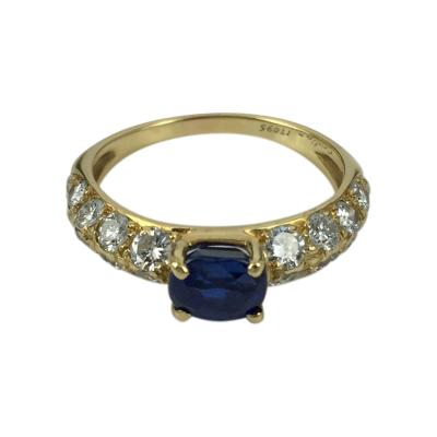 Cartier Cartier Sapphire and Diamond Ring