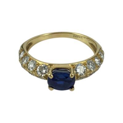 Cartier Cartier Sapphire and Diamond Ring