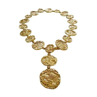 Cartier Cartier Silver Gilt Necklace Belt circa 1970