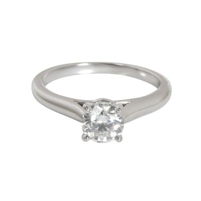 Cartier Cartier Solitaire 1895 Diamond Engagement Ring in Platinum G VS1 0 54 CTW