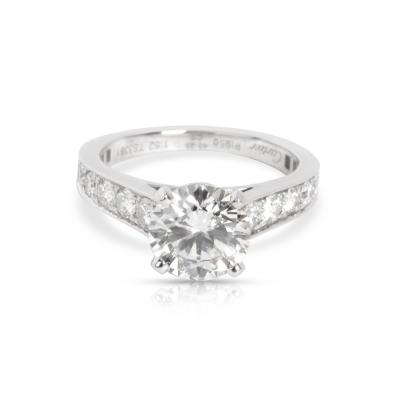 Cartier Cartier Solitaire 1895 Diamond Engagement Ring in Platinum G VS1 2 10 CTW