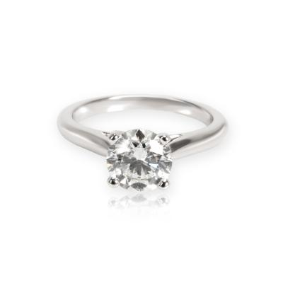 Cartier Cartier Solitaire 1895 Diamond Engagement Ring in Platinum G VVS2 1 31 CTW
