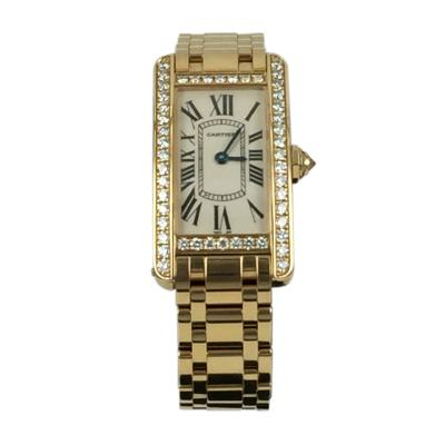 Cartier Cartier Tank American Watch with Diamonds