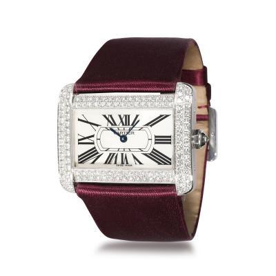 Cartier Cartier Tank Divan WA301370 Womens Watch in 18kt White Gold