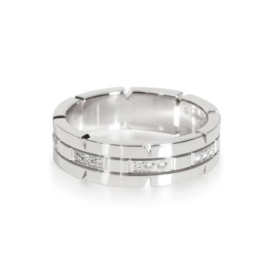 Cartier Cartier Tank Francaise Band in 18K White Gold 0 20 CTW