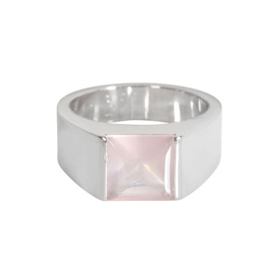 Cartier Cartier Tank Moonstone Fashion Ring in 18K White Gold