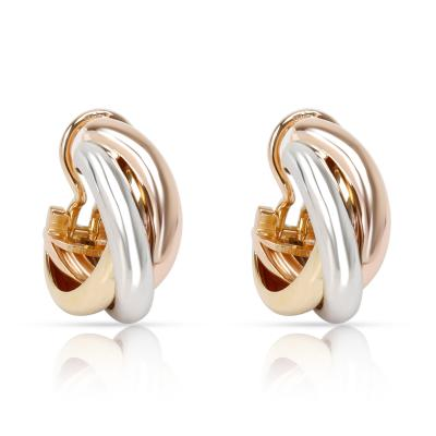 Cartier Cartier Trinity Earrings in 18K 3 Tone Gold