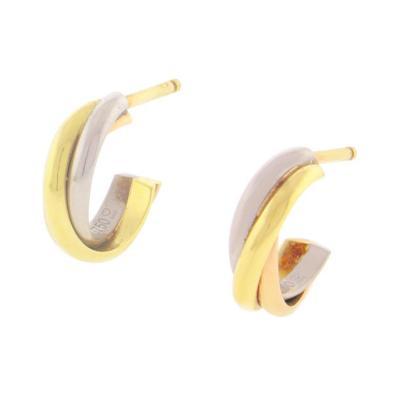 Cartier Cartier Trinity Hoop Earrings