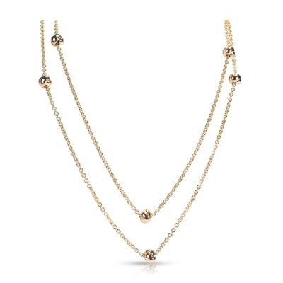 Cartier Cartier Trinity Station Necklace in 18KT Tri Colored Gold