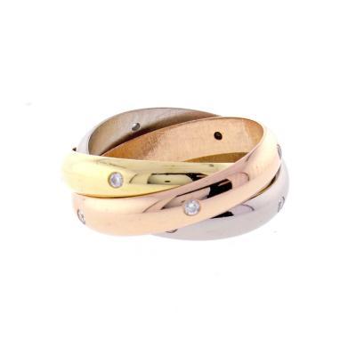 Cartier Cartier Trinity de Cartier Diamond Rolling Ring