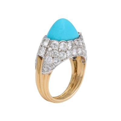 Cartier Cartier Turquoise Diamond Ring