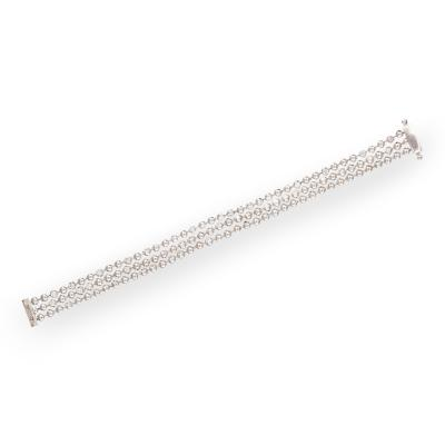 Cartier Diamond 18K White Gold Bracelet by Cartier