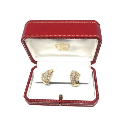 Cartier Diamond Earrings by Cartier