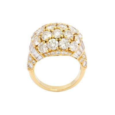Cartier Diamond Ring in 18K Gold by Cartier