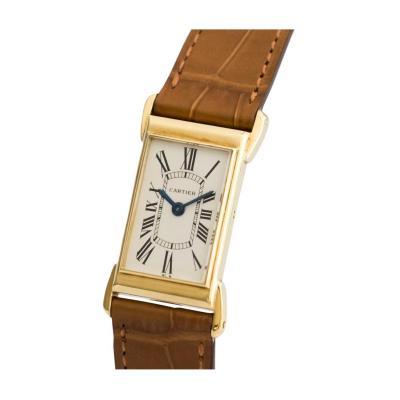 Cartier Rare Cartier Tank w Banana Lugs Wristwatch