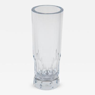 Cartier Tall Cut Crystal Vase by Cartier