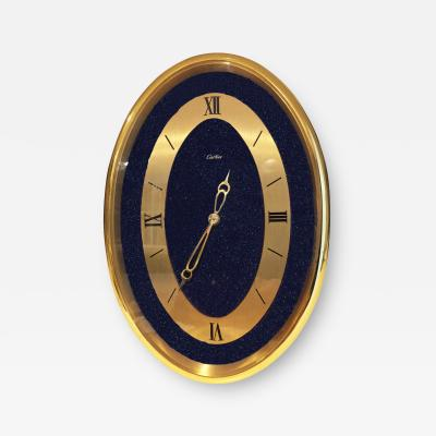 Cartier Vintage Cartier Oval Table Clock