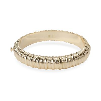 Cartier Vintage Cartier Ribbed Bangle in 18K Yellow Gold