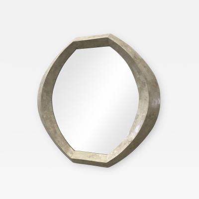 Casa Bique Casa Bique Tassellated stone mirror