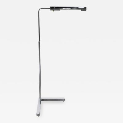 Casella Lighting Casella Chrome Adjustable Floor Lamp