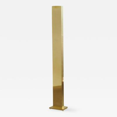 Casella Lighting Tall Polished Brass Torchiere Floor Lamp by Casella Lighting San Fransisco