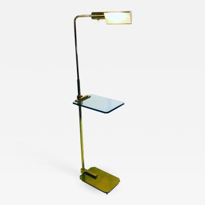 Casella Lighting Unusual Floor Lamp with Glass Design by Casella