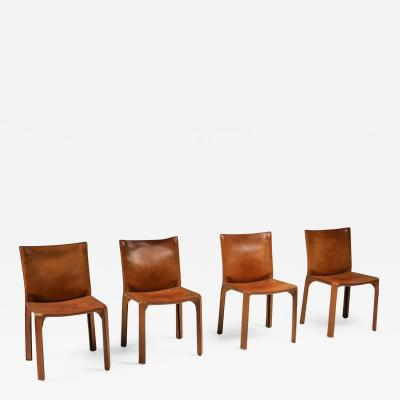 Cassina Cassina Cognac CAB Chairs 1970s