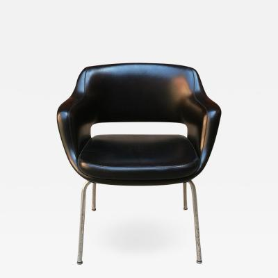 Cassina Leather armchairs by Cassina 1960s