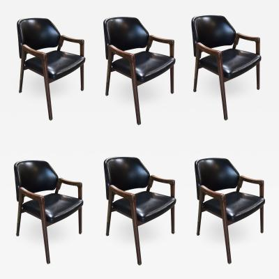 Cassina Set of 6 Ico Parisi Cassina 814 Italy 1963