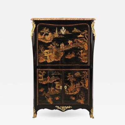 Castle Antiques Design Antique French Louis XVI Chinoiserie style Secretaire