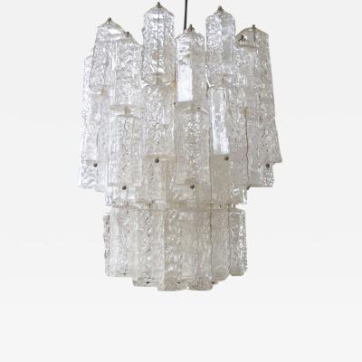 Cenedese Cenedese Murano chandelier circa 1960