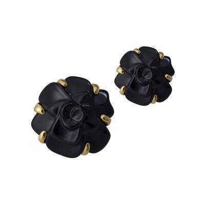 Chanel Chanel Camelia earrings