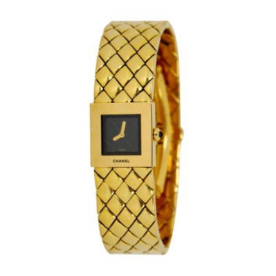 Chanel Chanel Ladys Yellow Gold Bracelet Watch
