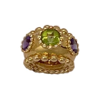 Chanel Chanel Tourmaline Amethyst Ring