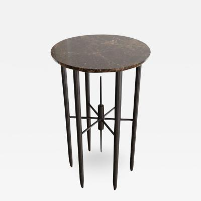 Chapter 101 Bespoke Contemporary Architectural Marble Side Table by Chapter 101