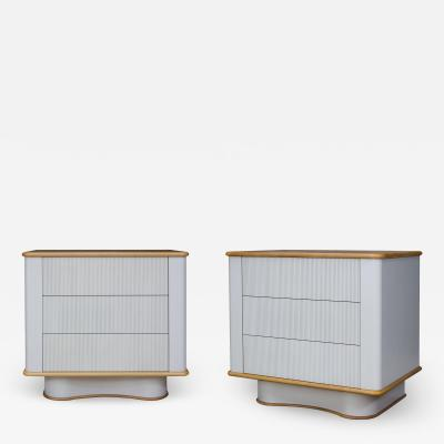 Chapter Verse Pair of Bancroft Bedside Tables