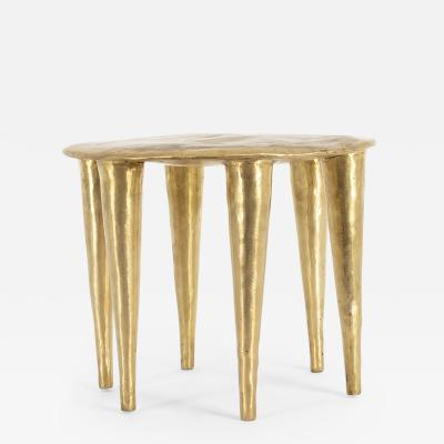 Charlotte Thon Marc Boinet Bronze Zindi Side Table by Charlotte Thon Marc Boinet