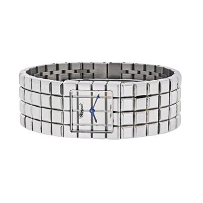 Chopard CHOPARD STAINLESS STEEL ICE CUBE WATCH