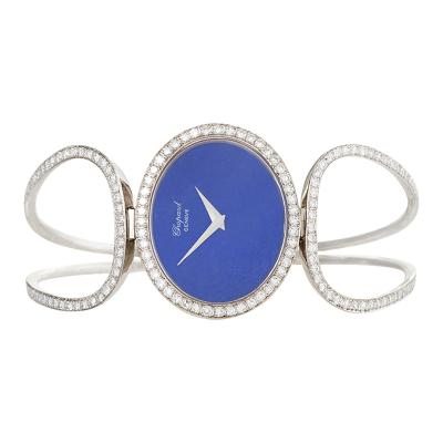 Chopard Chopard Geneva Late 20th Century Diamond Lapis Lazuli and Gold Watch
