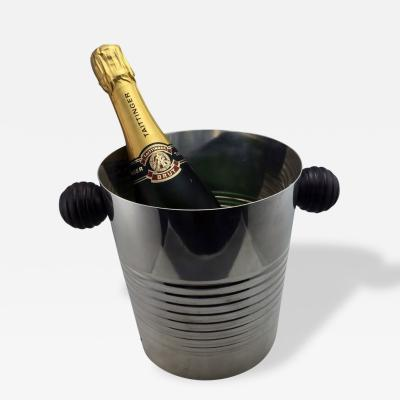 Christofle Art Deco Champagne or Wine bucket by Luc Lanel