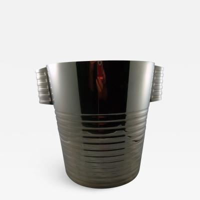 Christofle Christofle Luc Lanel Normandie Art Deco Champagne bucket