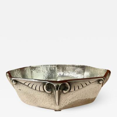 Christofle Galia for Christofle Silver Bowl with Rams Head