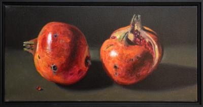 Ciba Karisik Pomegranates luscious still life by Ciba Karisik