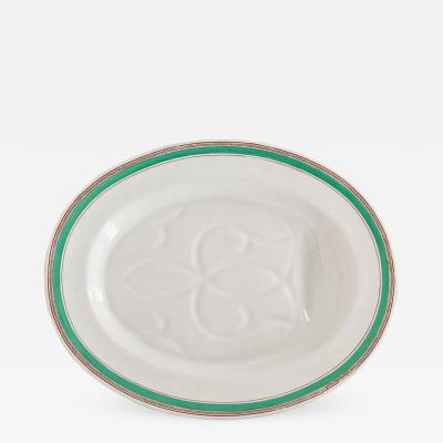 Copeland English 19th Century Copeland Porcelain Meat Platter